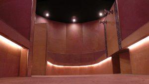Bankvorderkante beleuchtet mit LEDs