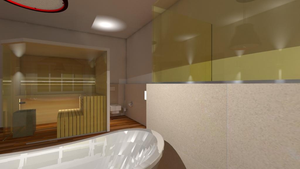 Baderaum mit Sauna 03
