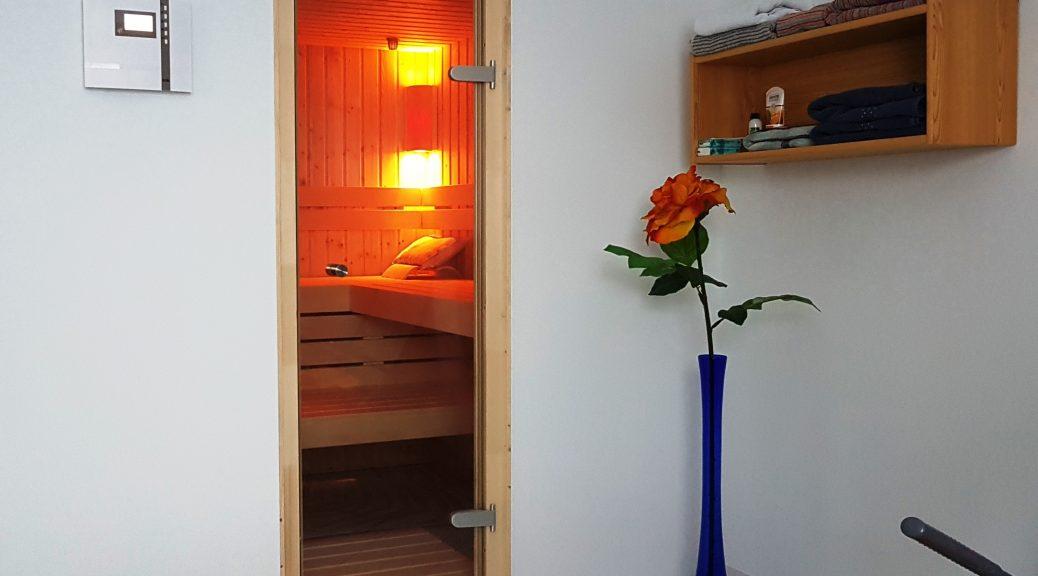 kleine Sauna privat