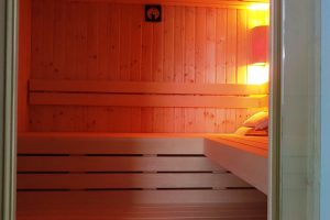 kleine private Sauna